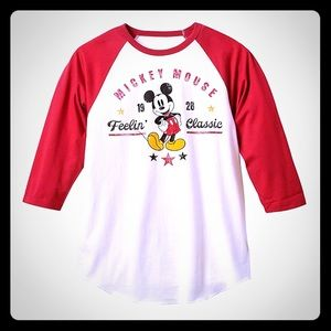 Disney Mickey Mouse Baseball Tee